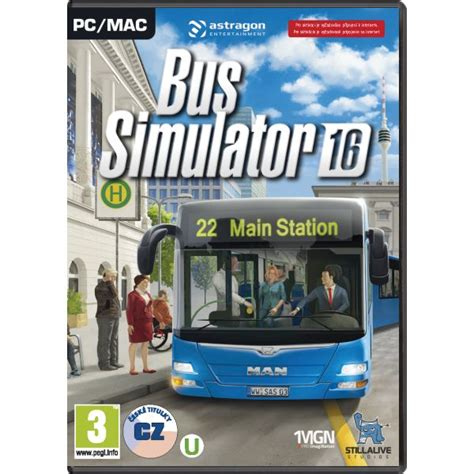 Bus Simulator 2016 CZ - PC