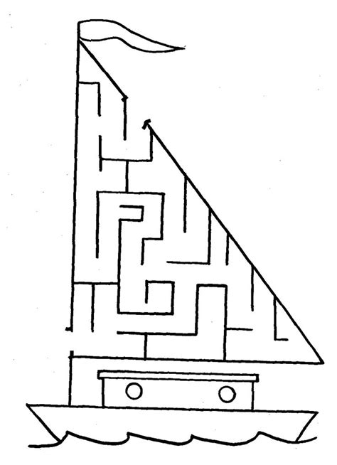 44 best Mazes images on Pinterest | Free printable