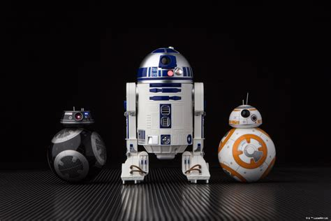 Sphero Reveals New iPhone-Controlled R2-D2 and BB-9E