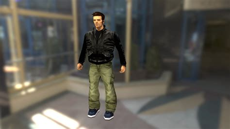 Claude GTA 3 - Download Free 3D model by Victor Lamoine