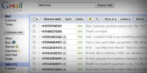 Backup all your SMS Text Messages to Gmail with this
