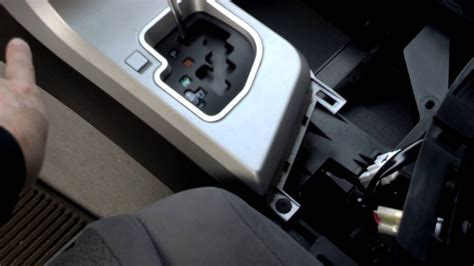 2007 Toyota Tundra Center Console removal and access to