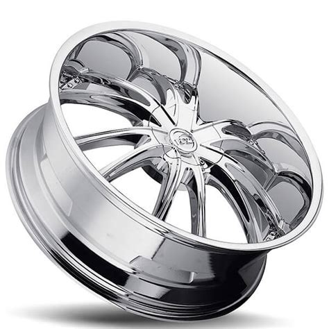 "20"" VCT Wheels Bossini Chrome Huge Size Lip Rims #VCT027-2"