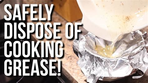 Safely Dispose of Cooking Grease! | Day 3 of The 12 Days