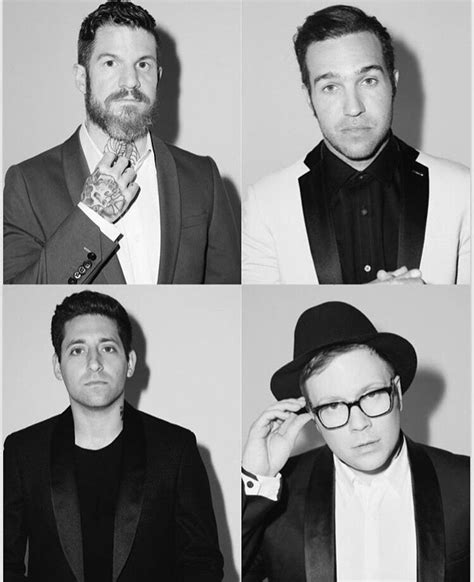 Fall Out Boy photographed by Daniel Sachon for Fault