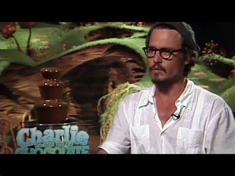 'Charlie and the Chocolate Factory' Interview - YouTube
