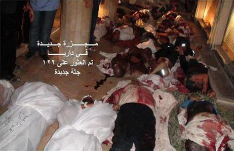 Egyptian Chronicles: #Daraya : Another massacre , the