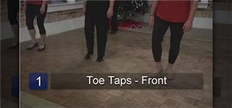 How to Perform tap dance steps for beginners « Tap