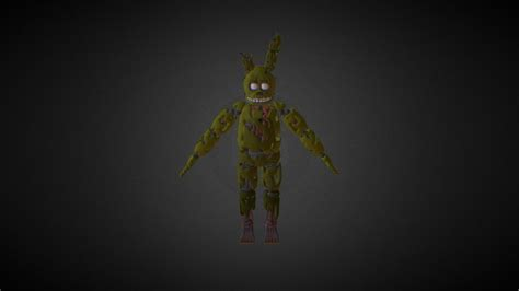 FNaF 3 Springtrap Model - Download Free 3D model by
