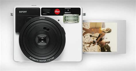 Leica Unveils the Sofort, Its First Instant Camera