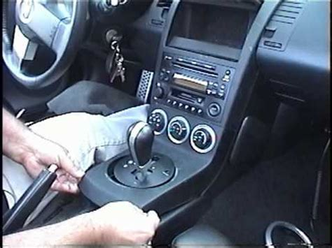 How to Remove Radio / Stereo / Navigation from 2003 Nissan