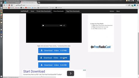 How to download video from vimeo using chrome - YouTube