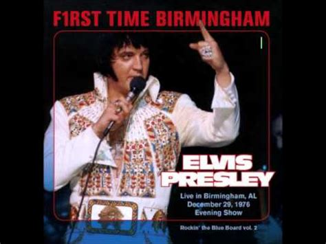 Elvis Presley - F1rst Time Birmigham December - 29 1976