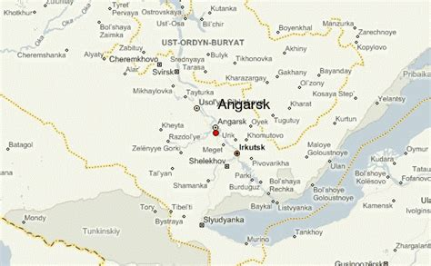 Angarsk Location Guide