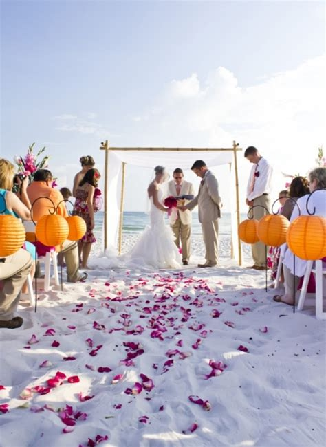 The Beauty of Fall Beach Weddings » Panama City Beach