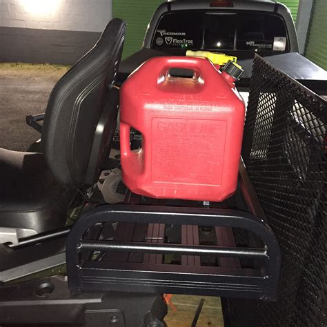 Front cargo rack on rear of 570 Sportsman Touring
