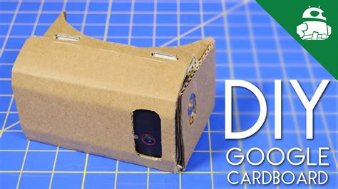 How to make your own Google Cardboard headset