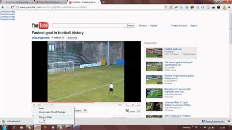 Download Youtube Videos in Google Chrome - Flash Video