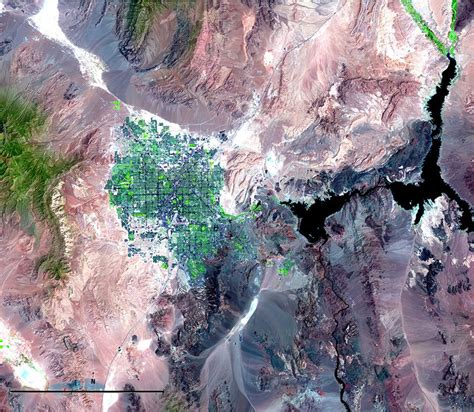 Satellite Imagery and Change Over Time - National