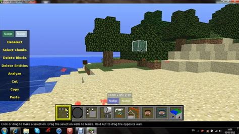 Minecraft : How to set spawn using MCedit! - YouTube