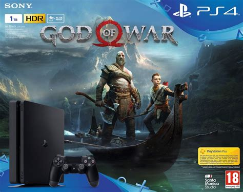 Sony PlayStation 4 Slim 1TB + God of War | PS3, PS4, Xbox