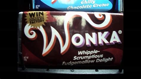 Wonka bars and box movie props, Charlie and the Chocolate