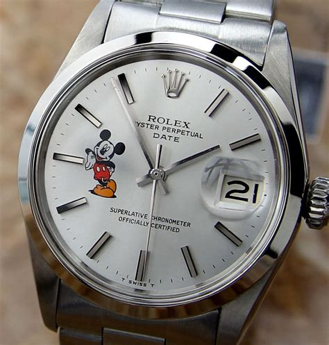 Mickey Mouse Rolex | Collectors Weekly