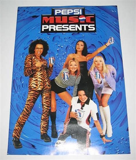 Spice Girls Pepsi Music Presents UK Promo poster (356441)