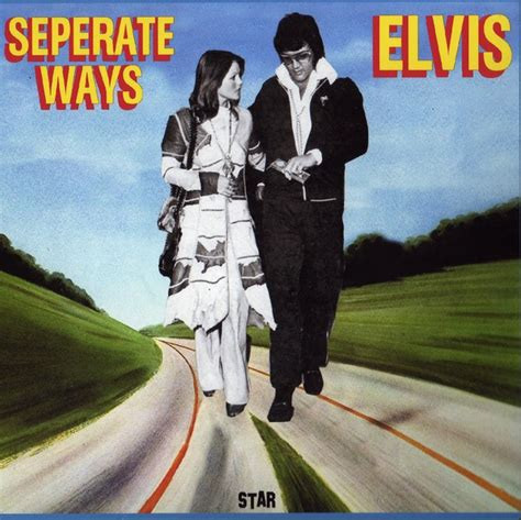Elvis Presley - Seperate Ways - The Alternate Album (CD