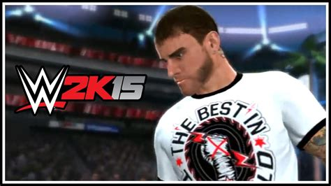 WWE 2K15 - CM Punk No Longer Under WWE Contract - Moved To