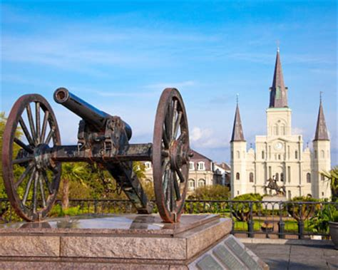 History of New Orleans - Battle of New Orleans - French